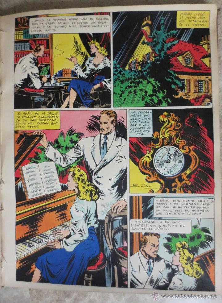 PAGINA ORIGINAL ENRIC BADIA ROMERO AÑO 1944 COMIC ART PAGE (Tebeos y Comics - Art Comic)