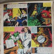 Cómics: PAGINA ORIGINAL ENRIC BADIA ROMERO AÑO 1944 COMIC ART PAGE. Lote 54016601