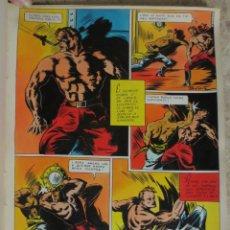 Cómics: PAGINA ORIGINAL ENRIC BADIA ROMERO AÑO 1944 COMIC ART PAGE. Lote 54016683
