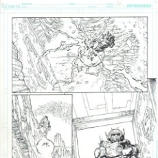 Cómics: JESÚS MERINO. PÁGINA ORIGINAL SUPERMAN & BATMAN # 79-14. Lote 54981160