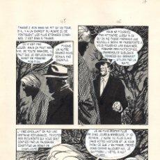Cómics: JOSE ANTONIO HUESCAR. PÁGINA ORIGINAL PARA COPLAN P-17. Lote 54808570