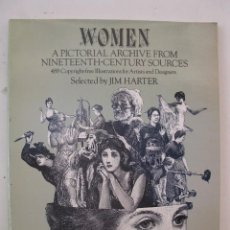 Fumetti: WOMEN - A PICTORIAL ARCHIVE FROM NINETEENTH-CENTURY SOURCES - JIM HARTER - DOVER PUBLICATIONS (NY).. Lote 55031424