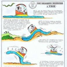 Cómics: ¡¡¡REBAJADO!!! SABATES GRANDES INVENTOS DEL TBO. Lote 55104257