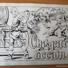 Cómics: CHISPITA 1ª Nº 4 (ÚLTIMA APARICIÓN DEL JINETE FANTASMA). COMPLETO. AMBRÓS.. Lote 55104813