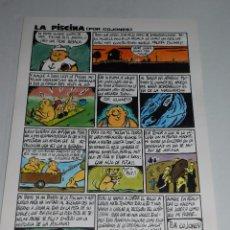 Cómics: (D219) DIBUJO ORIGINAL DE MIKEL VALVERDE 91 , DIBUJANTE DE LA REVISTA MAKOKI , 42 X 29 CM. Lote 55123409