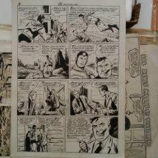 Cómics: JOAN GIRALT BANUS (BADALONA 1922 - SANT ADRIA DEL BESOS 2011) SUPERHOMBRE SUPERMAN AÑOS 50 ORIGINAL. Lote 55445586