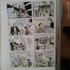 Cómics: JOSE MARTI CAPELL DIBUJO ORIGINAL TINTA EL PEQUEÑO GRUMETE. Lote 55448973