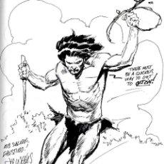 Cómics: ART COMIC LEE WEEK ORIGINAL PORTADAEL WENDIGO 21X 28 CENTIMETROS PORTADA DE EL WENDIGO PREMIO HAXTUR. Lote 55918328
