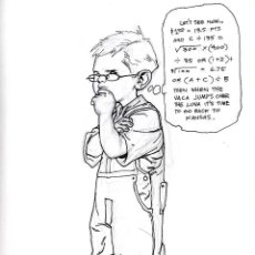 Cómics: ART COMIC KEVIN NOWLAN ORIGINALTAMAÑO 21 X 28 CENTIMETROS. Lote 55918352
