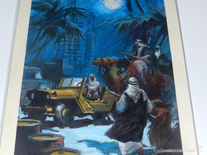 Cómics: (LB3) DIBUJO ORIGINAL DE BALLESTAR - MEDIDAS DEL DIBUJO 37 X 20 CM, BUEN ESTADO - Foto 3 - 56955040