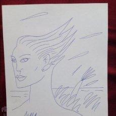 Cómics: LOUSTAL JACQUES DE, LOUSTAL, *1956 (FRANCE). DIBUJO. BOLÍGRAFO / PAPEL. 29'5 X 21 CMTRS.. Lote 57036171