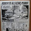 Cómics: ROBERTO ALCAZAR Y PEDRIN 1965. EXTRA Nº 71. LAS 7 PLANCHAS ORIGINALES (SIN LA PORTADA).. Lote 57120720