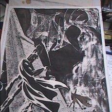 Cómics: MAGNIFICO DIBUJO ORIGINAL DE DRAGÓN. CÓMIC ART. FIRMADO NEON 1982.. Lote 57147539