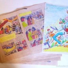 Cómics: GUIA DE COLOR ORIGINAL NUEVAS AVENTURAS DEL GUERRERO DEL ANTIFAZ 39 COMPLETO 32 PÁG + CUBIERTA.1979. Lote 57194543