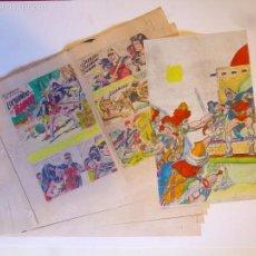 Cómics: GUIA DE COLOR ORIGINAL NUEVAS AVENTURAS DEL GUERRERO DEL ANTIFAZ 43 COMPLETO 32 PÁG + CUBIERTA.1979. Lote 57194793