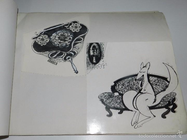 Cómics: 43 DIBUJOS DE MARCEL PARA ILUSTRAR EL LIBRO CANGURA PARA TODO DE GLORIA FUERTES - Foto 5 - 57234964