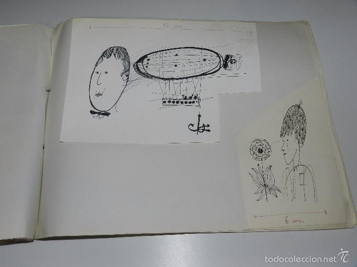 Cómics: 43 DIBUJOS DE MARCEL PARA ILUSTRAR EL LIBRO CANGURA PARA TODO DE GLORIA FUERTES - Foto 10 - 57234964