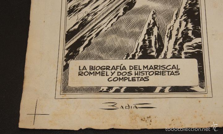 Cómics: ORIGINAL BADIA ENRIQUE BADIA ROMERO PORTADA COLECCION GIGANTE - Foto 2 - 58264628