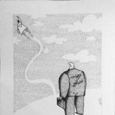 Cómics: DIBUJO ORIGINAL - HUMORISTA GRAFICO CUBANO GELICO. Lote 58519863