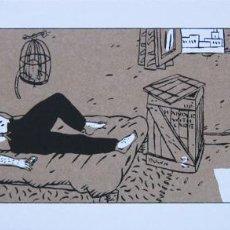 Cómics: LOUSTAL. SERIGRAFÍA BIZNESS A PARAMARIBO. FIRMADA. FRANCIA 1985. Lote 60821167