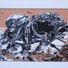 Cómics: MEZZO. SERIGRAFÍA LA FIANCEE DU VENGEUR. FIRMADA. FRANCIA 1985. Lote 60899147