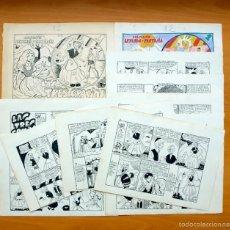 Cómics: DIBUJOS ORIGINALES - LAS TRES GRACIAS - LEYENDA Y FANTASIA Nº 12 - COMPLETO - MAGA 1951, VER FOTOS. Lote 61268915