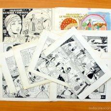 Cómics: DIBUJOS ORIGINALES - ROSITA DE ORO - LEYENDA Y FANTASIA Nº 10 - E. MAGA 1951 - COMPLETO, VER FOTOS. Lote 61269155