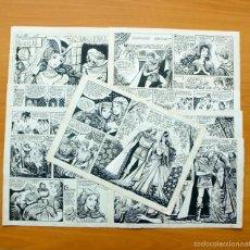 Cómics: DIBUJOS ORIGINALES - CASCABEL - COLECCIÓN LIRIO Nº 17 - EDITORIAL MAGA 1956 - COMPLETO, VER FOTOS. Lote 61269711