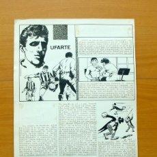 Cómics: DIBUJO ORIGINAL DE SERRANO - UFARTE - FLECHA ROJA REVISTA - EDITORIAL MAGA 1962. Lote 61271679