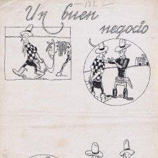 Cómics: ORIGINAL DE ROCA UN BUEN NEGOCIO. Lote 61765636
