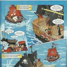 Cómics: ORIGINAL PLAYMOBIL PIRATA. Lote 64283307