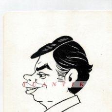 Cómics: CARICATURA FELIPE GONZALEZ - DIBUJO ORIGINAL DE JUAN GARCIA IRANZO (FIRMADO). Lote 64755731
