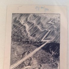 Cómics: AGUADO - 1930'S - TINTA - FIRMADO . Lote 65827246