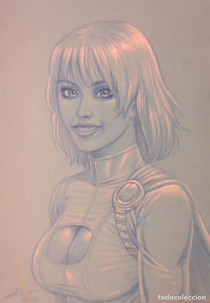 ORIGINAL POWER GIRL DE ATILIO (Tebeos y Comics - Comics - Art Comic)