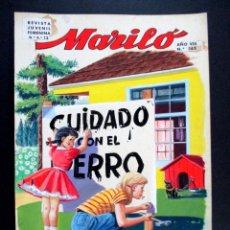 Cómics: DIBUJO ORIGINAL COLOR , JOSÉ LUIS , MARILÓ , PORTADA Nº 162 - O7. Lote 66511034