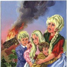 Cómics: PORTADA PUBLICADA/ PAGINA ORIGINAL CATHY #163 (1977). AUTOR JULIANA BUCH. FIRMADA. Lote 66883722