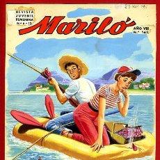 Cómics: DIBUJO ORIGINAL COLOR, JOSE LUIS , COLECCION MARILO Nº 161 , ORIGINAL. Lote 67162461