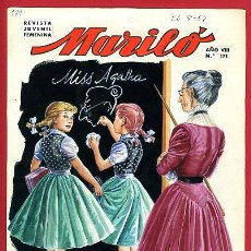 Cómics: DIBUJO ORIGINAL COLOR, JOSE LUIS , COLECCION MARILO Nº 171 , ORIGINAL. Lote 67162581