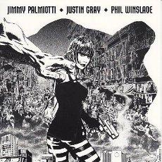 Cómics: FIRMADO A MANO JIMMY PALMIOTTI - PROMOTIONAL MINI PRINT - THE MONOLITH (DC,2003). Lote 67683613