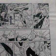 Cómics: CONSTANTINE ( HELLBLAZER)ACO. ART COMIC ORIGINAL. Lote 68121485