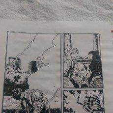 Cómics: CONSTANTINE ( HELLBLAZER)ACO. ART COMIC ORIGINAL. Lote 68128373