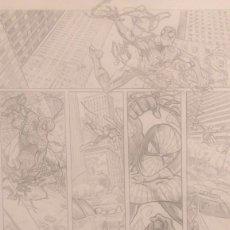 Cómics: SPIDER MAN PIEZA DE PRESENTACION PARA MARVEL. Lote 68180353
