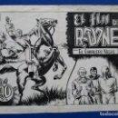 Cómics: EL CABALLERO NEGRO Nº18 (ÚLTIMO), BOIXCAR. CUADERNO COMPLETO: PORTADA + 16 PÁGS. PLANCHAS ORIGINALES. Lote 68355077