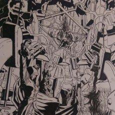 Cómics: CONSTANTINE ( HELLBLAZER)ACO. ART COMIC ORIGINAL. Lote 68406145