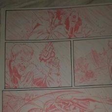 Cómics: BATMAN CONTRA JOKER. RED LINES.ACO. ART COMIC ORIGINAL. Lote 69089009
