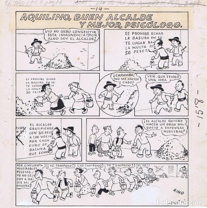 ¡¡¡REBAJADO!!! BENEJAM AQUILINO, BUEN ALCALDE Y MEJOR PSICÓLOGO (Tebeos y Comics - Comics - Art Comic)