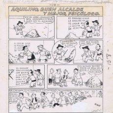 Cómics: BENEJAM AQUILINO, BUEN ALCALDE Y MEJOR PSICÓLOGO. Lote 69527853