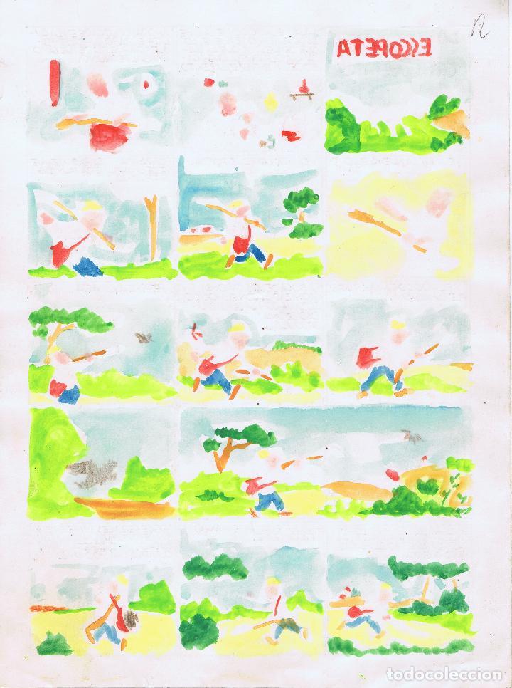 Cómics: Parte trasera coloreada - Foto 2 - 69528481