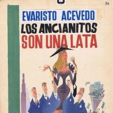 Cómics: GARCÍA LORENTE, ANTONI LOS ANCIANOS SON UNA LATA. Lote 69704481