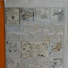 Cómics: ORIGINAL 1ER CONCURSO DE CHISTES DEL TBO. Lote 69736389